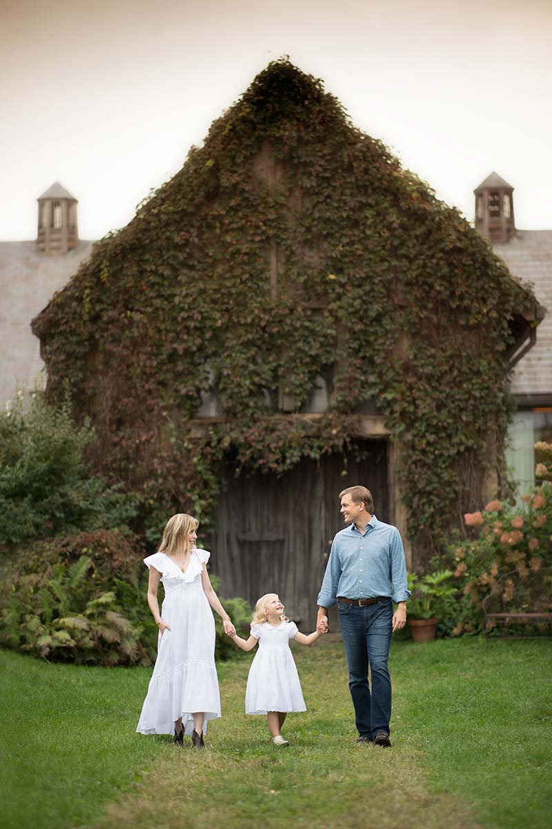 Stone Barns family photoshoot